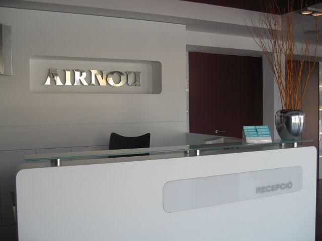 Foto recepción Airnou