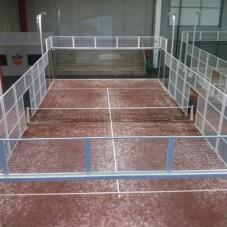 Sistema de climatización, ventilación y producción de agua caliente sanitaria en un pádel indoor